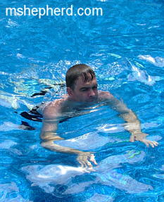 Mike Swimming