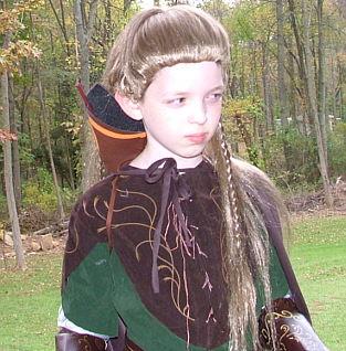 Tim as Legolas